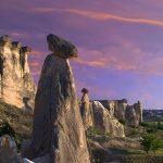 Göreme Milli Parkýnda Peri Bacalarý, Kapadokya, Nevþehir, Türkiye (The Fairy Chimneys at Göreme National Park, Cappadocia, Nevsehir, Turkey)